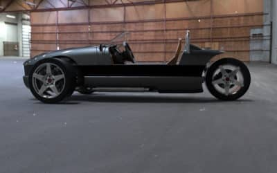 Vanderhall Motor Works Announces Turbocharged Venice Roadster Autocycle