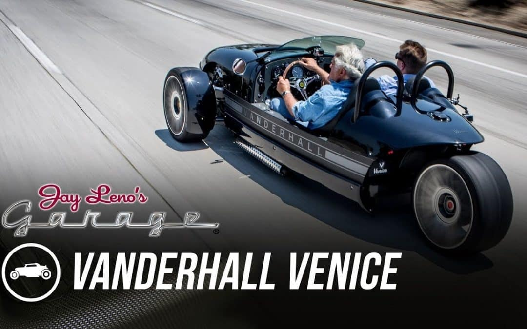 Vanderhall Venice Spotlighted on Jay Leno's Garage