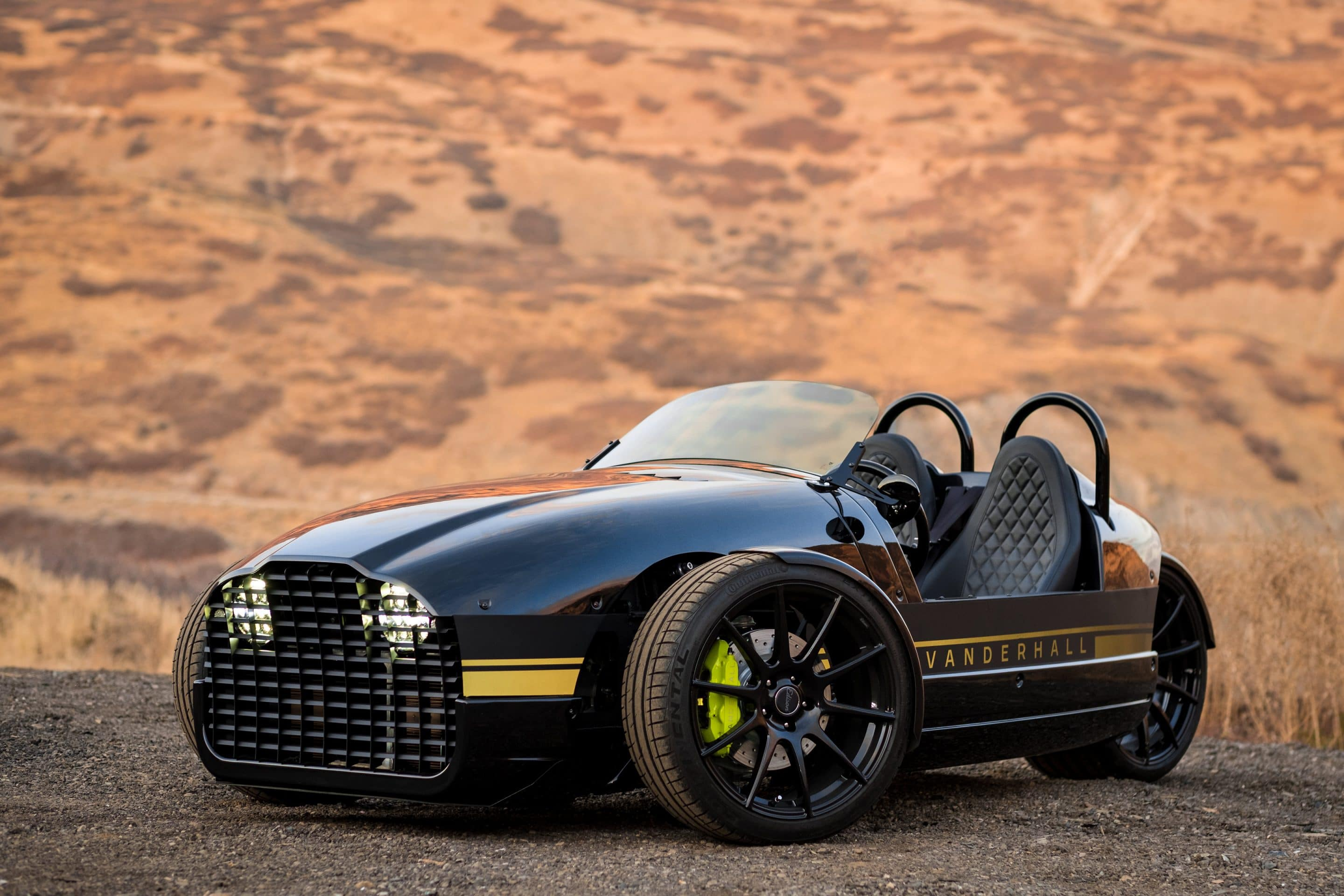 All Electric Three Wheel Car