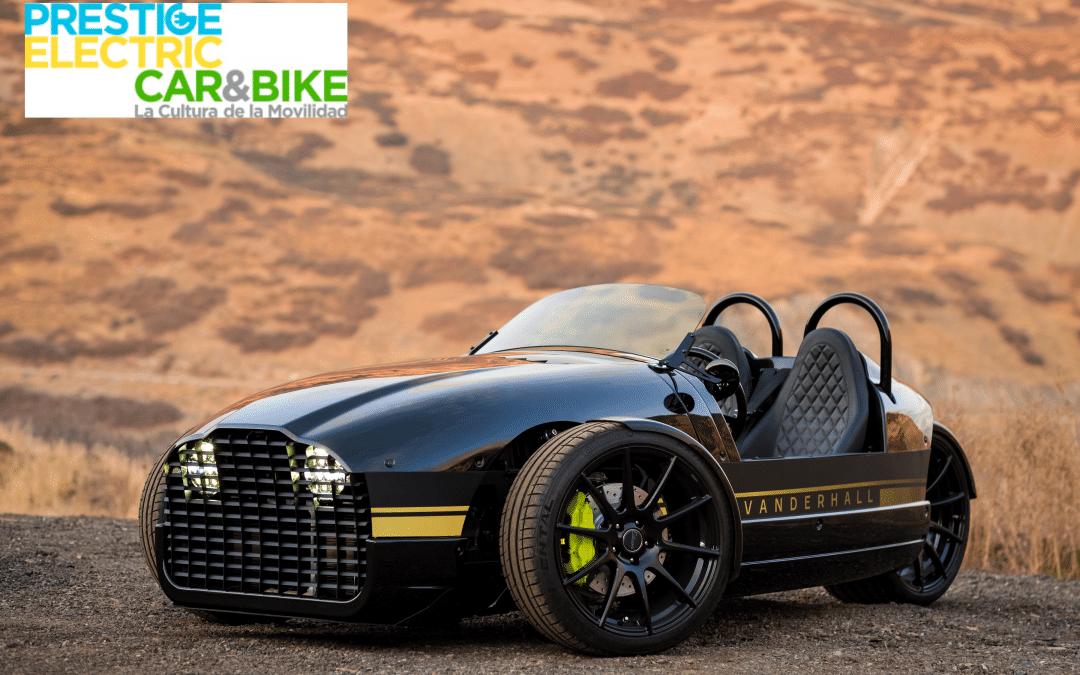 Vanderhall Edison 2, electric three-wheeler from America