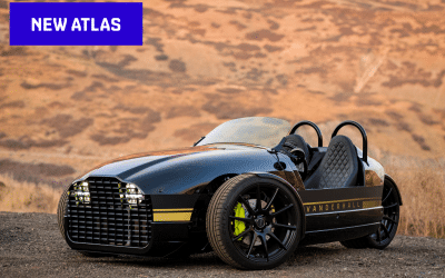 Vanderhall goes electric for latest open air roadster