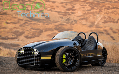 Funky Three-Wheel Electric Vanderhall Edison2 Promises A Lot Of Fun
