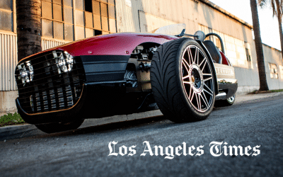 Los Angeles Times: Vanderhall Three-Wheeled Autocycles Ride A Growing Trend