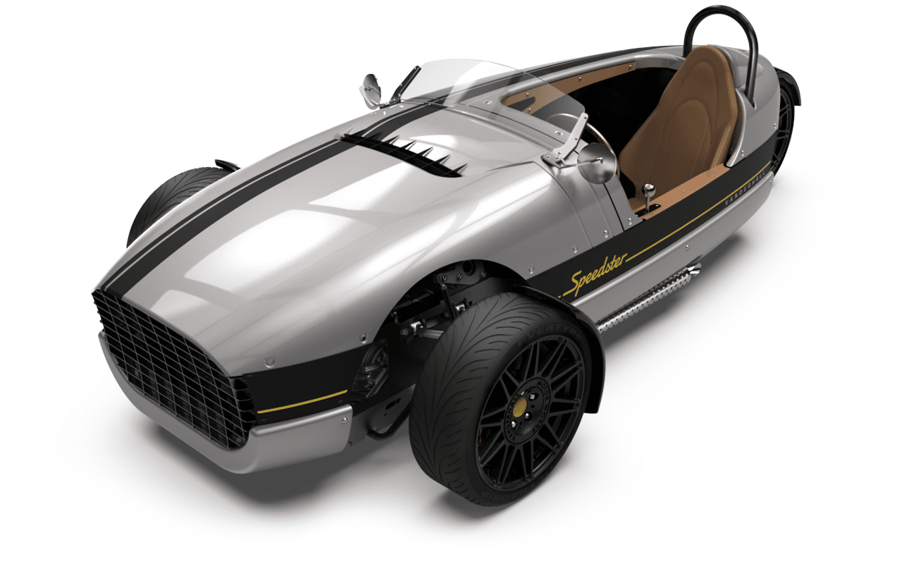 Vanderhall Speedster high front