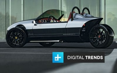 Digital Trends: Vanderhall Carmel Adds Creature Comforts to the basic Three-Wheeler Formula