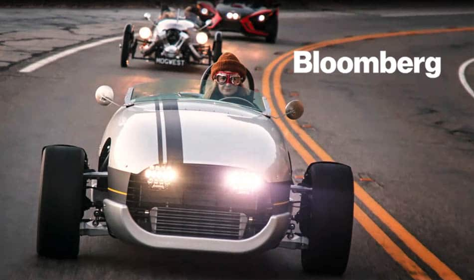 Bloomberg: Three Wheels, No Shame: Test-Driving the Latest Thrill-Seeking Fad
