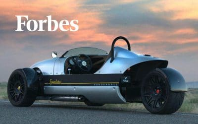 Forbes: Test-Driving Vanderhall's One-Seat Venice Speedster Through The Hills Of Utah