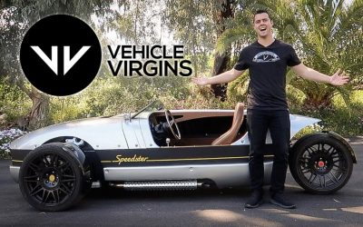 Vehicle Virgins: The Most Fun For $26,000?! Vanderhall Speedster