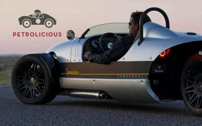 Petrolicious: Vanderhall Motor Works Now Sells These Crazy American Three-Wheelers In Europe