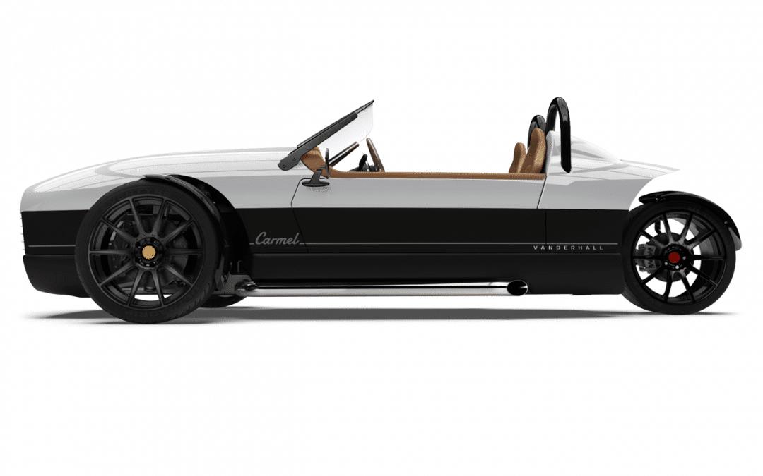 2020 Vanderhall Carmel GT- Pearl White
