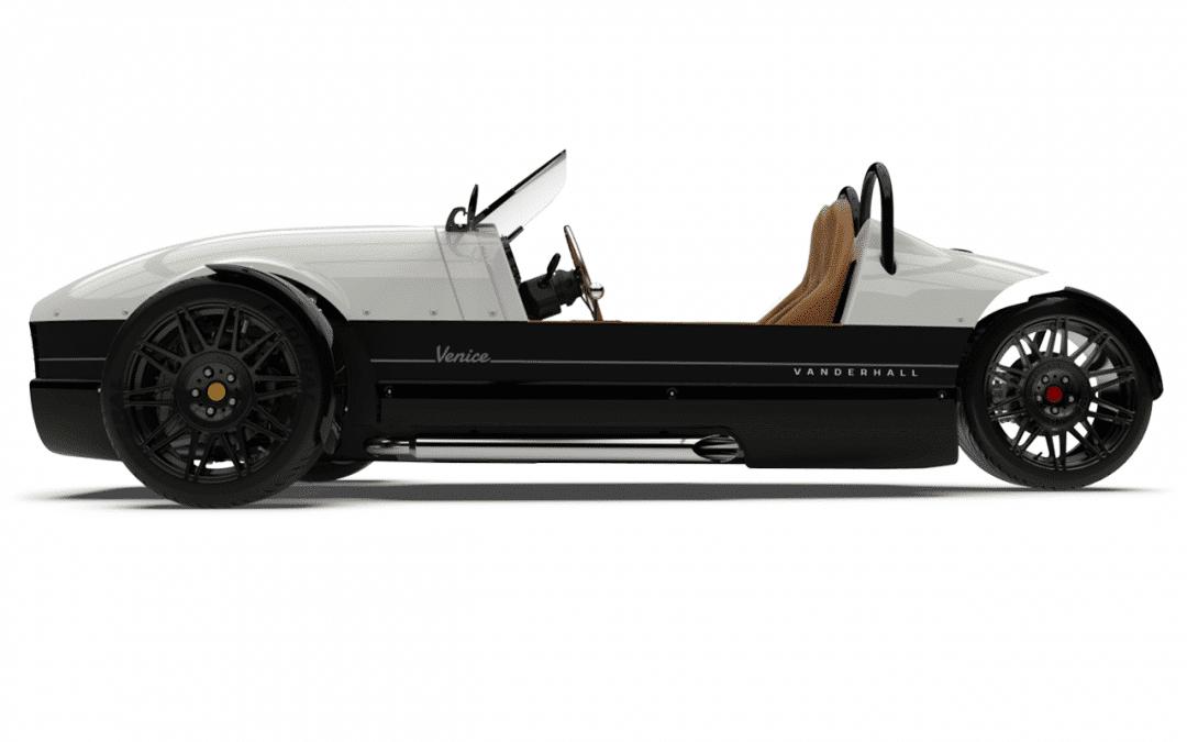 2020 Vanderhall Venice GT – Pearl White