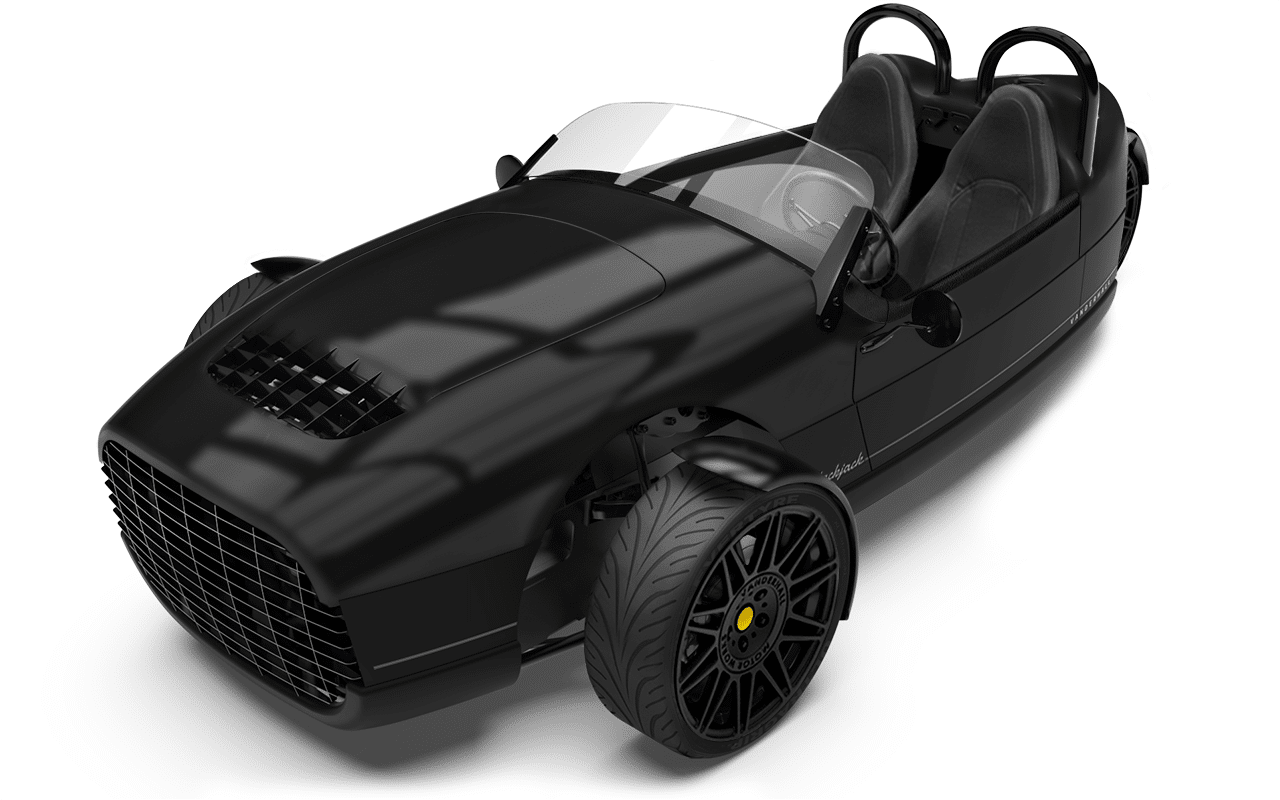 Vanderhall Carmel high front BLACKjack