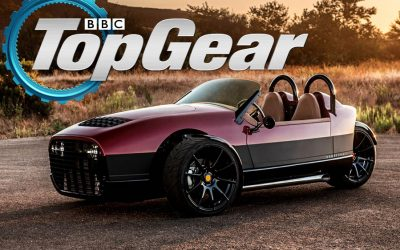 Top Gear: The Vanderhall Carmel is a Three-Wheel 194bhp Roadster