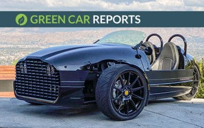 Green Car Reports: First Drive Review: The 2020 Vanderhall Edison Three-Wheeler is a Fun Way to Go Green
