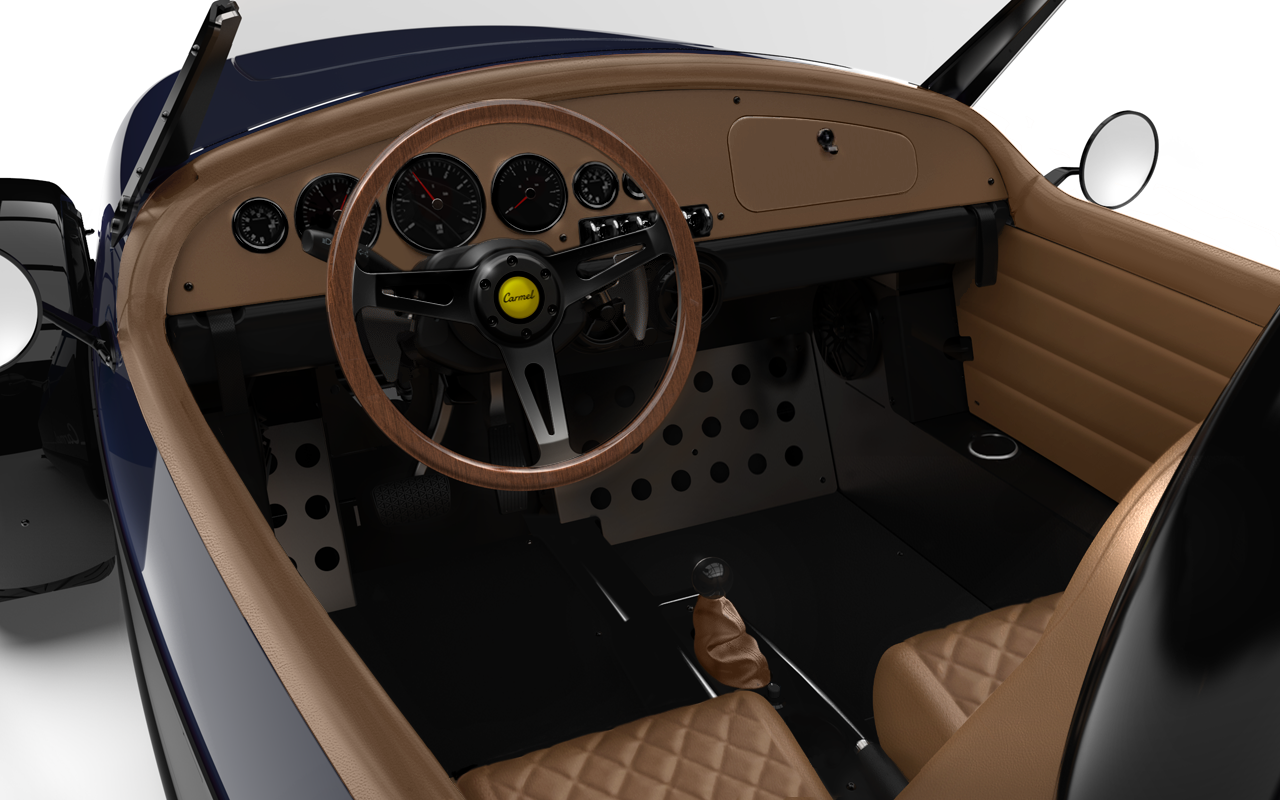 Vanderhall-Carmel-interior BLUE machined