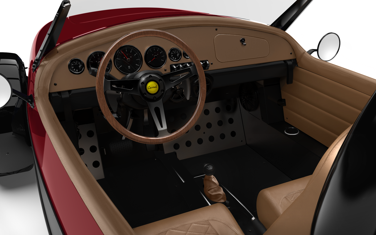 Vanderhall-Carmel-interior RED machined