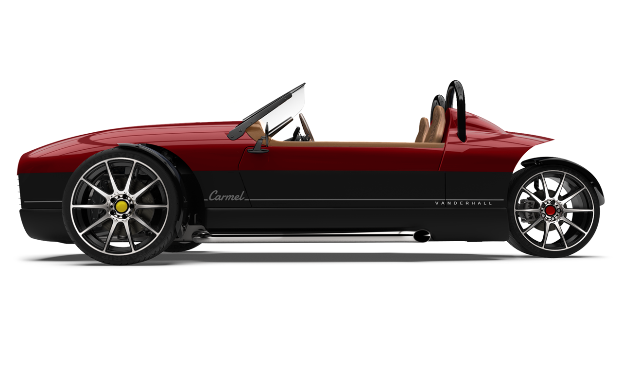Vanderhall-Carmel-side RED machined