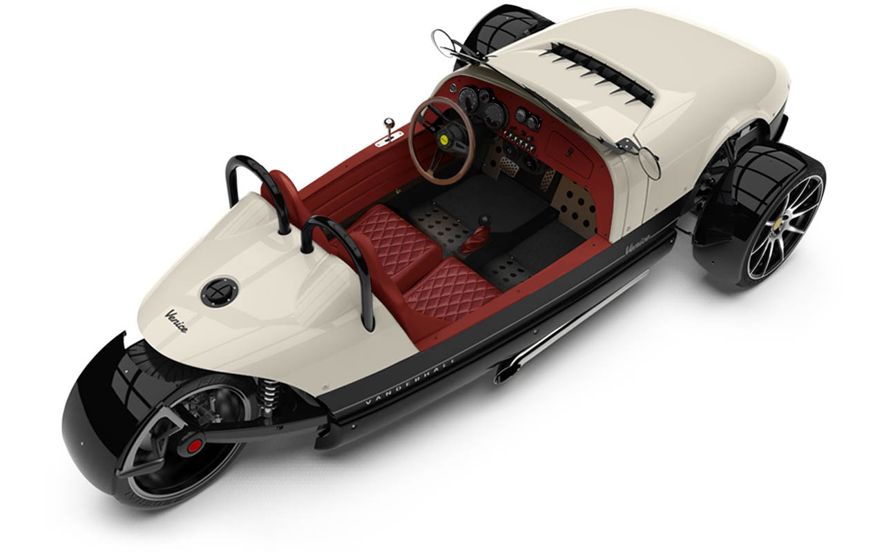 Vanderhall-Venice-High-Rear-rim white EU nov machined wheels 3 inch