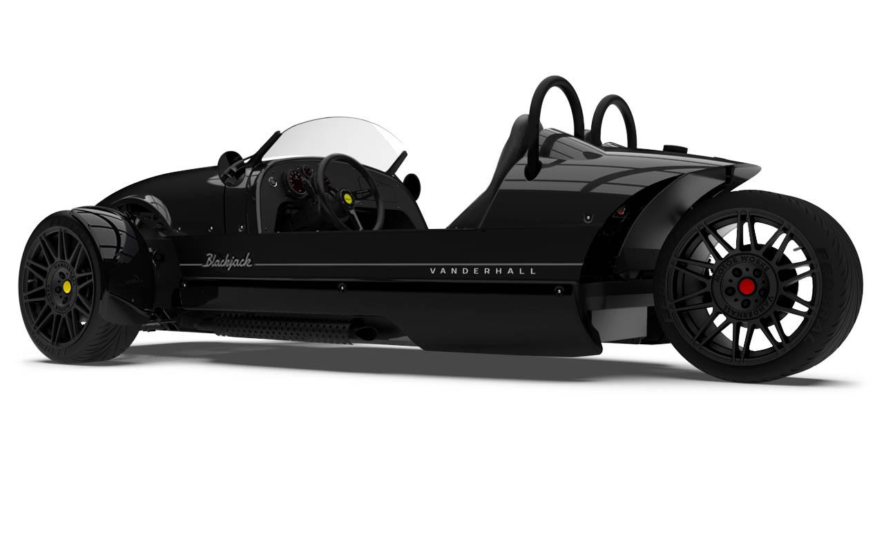 Vanderhall-Venice-blackjack-side-rear-shiny black