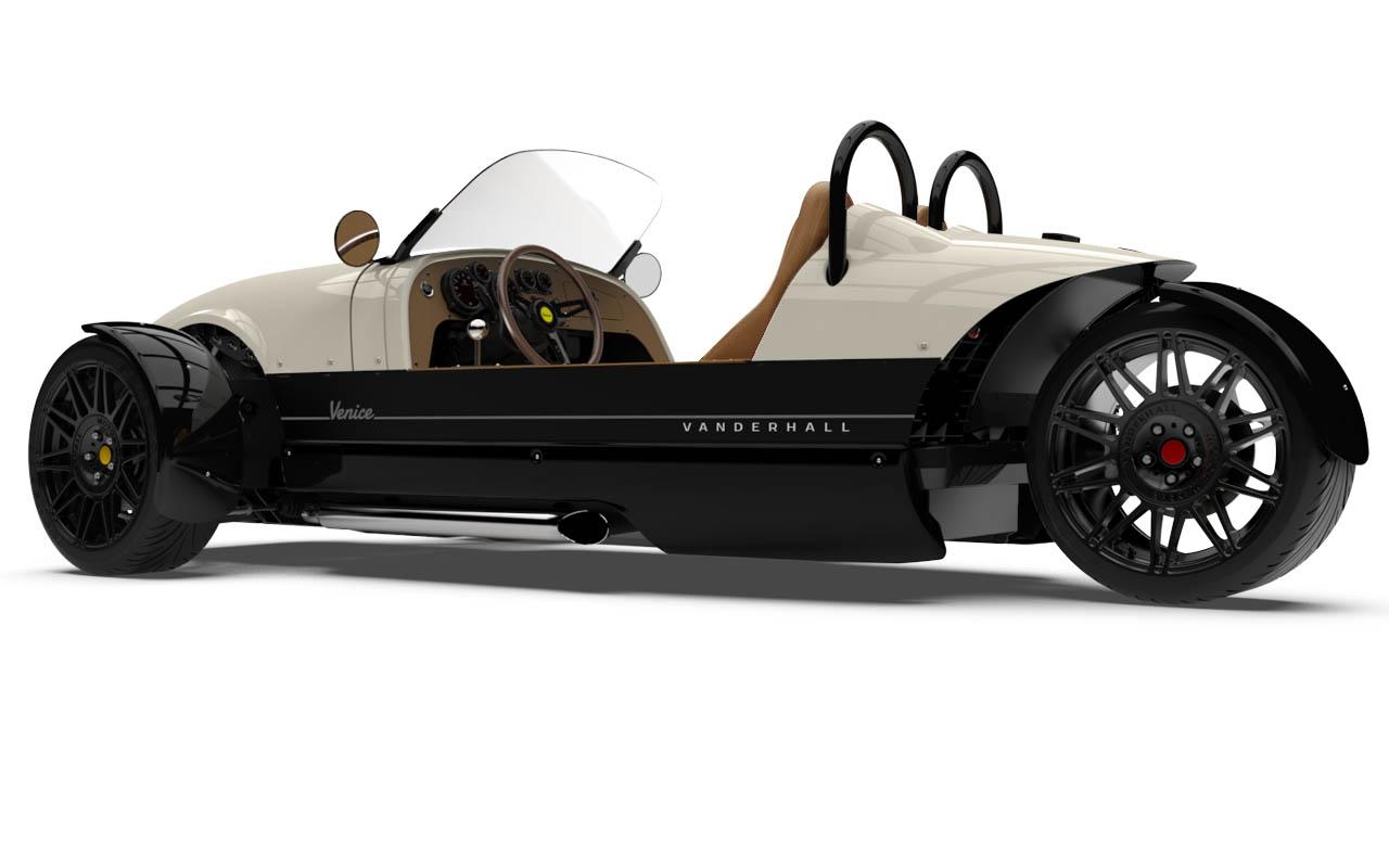 Vanderhall-Venice-side-rear-Ivory-White