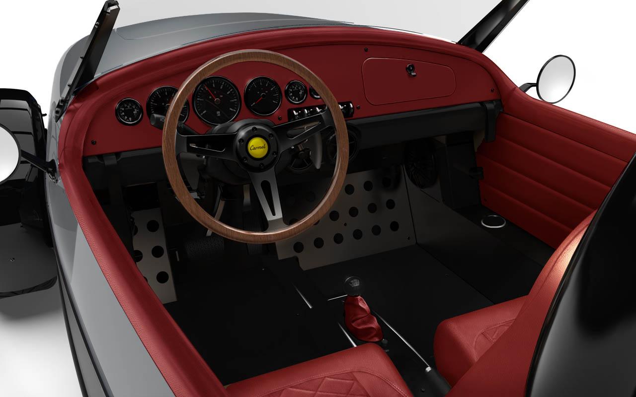 Vanderhall-Carmel-interior jean grey cranberry