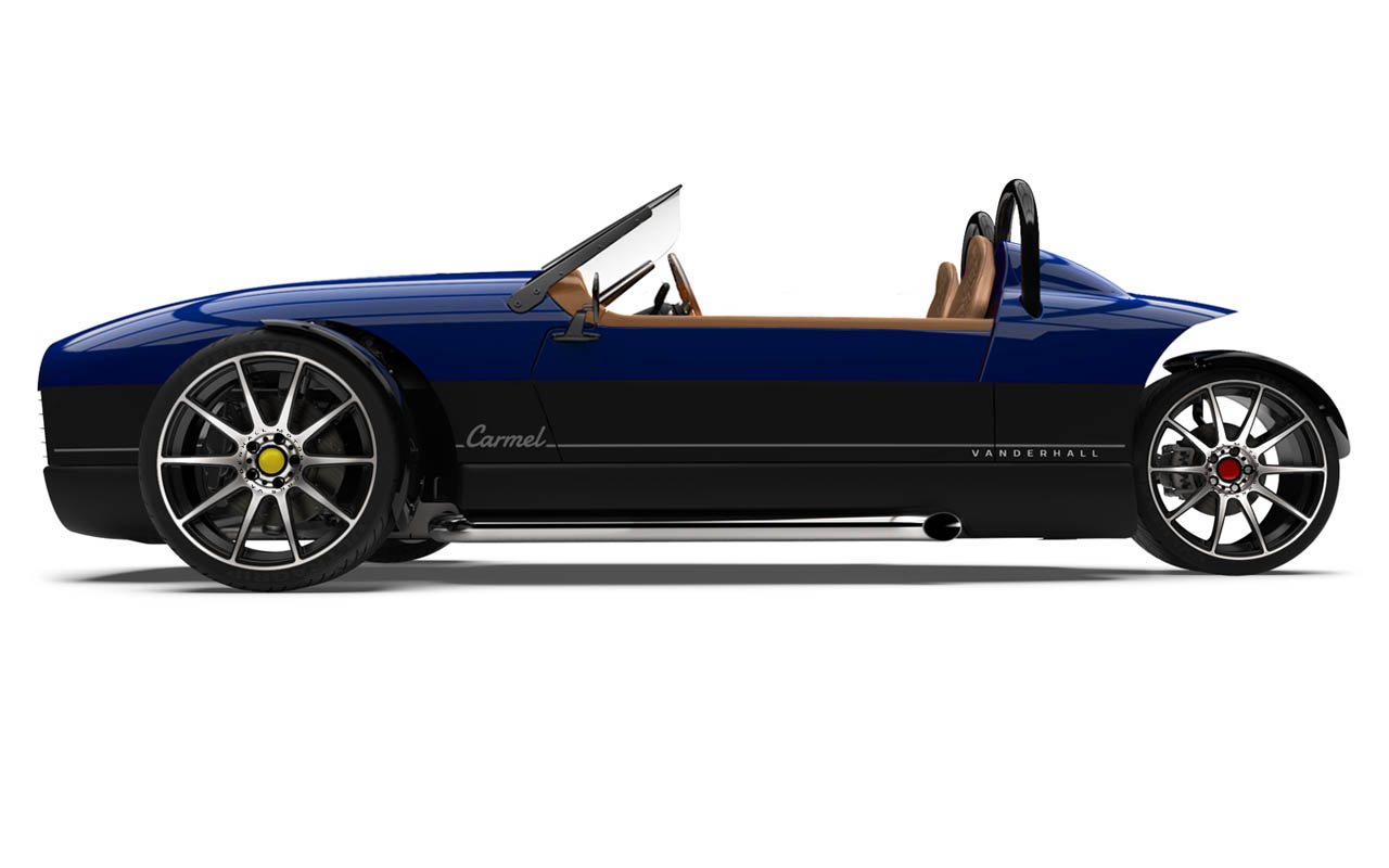 Vanderhall-Carmel-side tracy BLUE machined