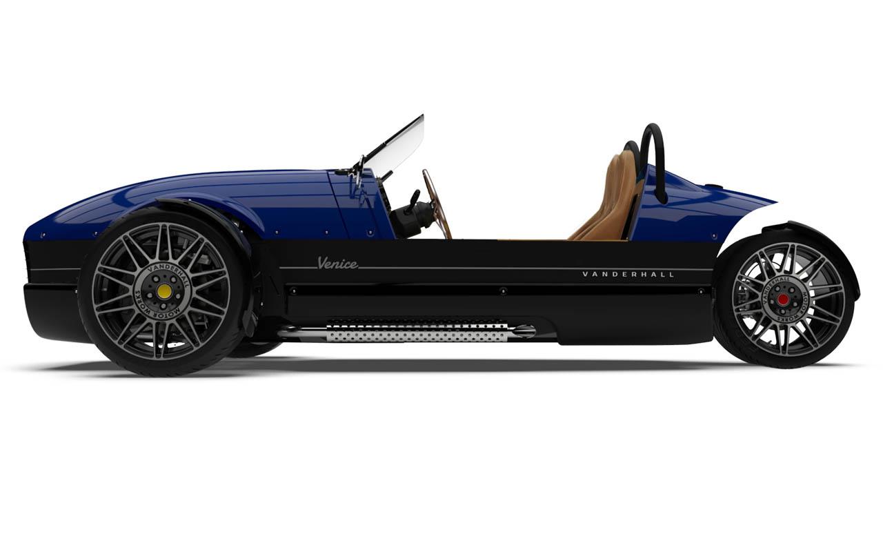 Vanderhall-Venice-side tracy blue standard