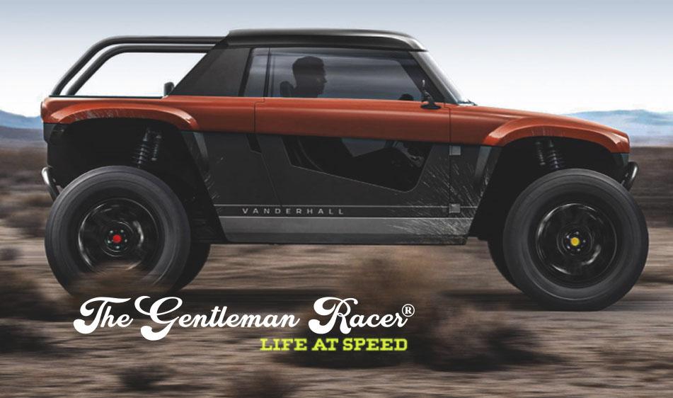 The Gentleman Racer: Vanderhall Teases New EV Off-Road Concept