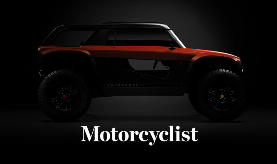 Motorcyclist: Vanderhall Teases 2022 Navarro Electric Off-Road Vehicle