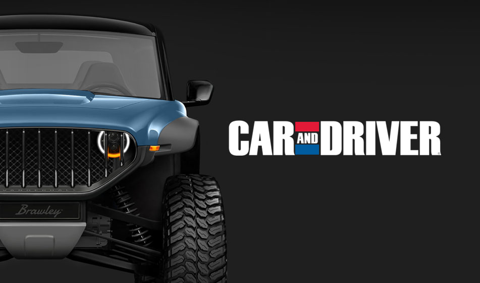 Car and Driver: Vanderhall Brawley GTS: Ultimate 100% Electric Off-Road Experience